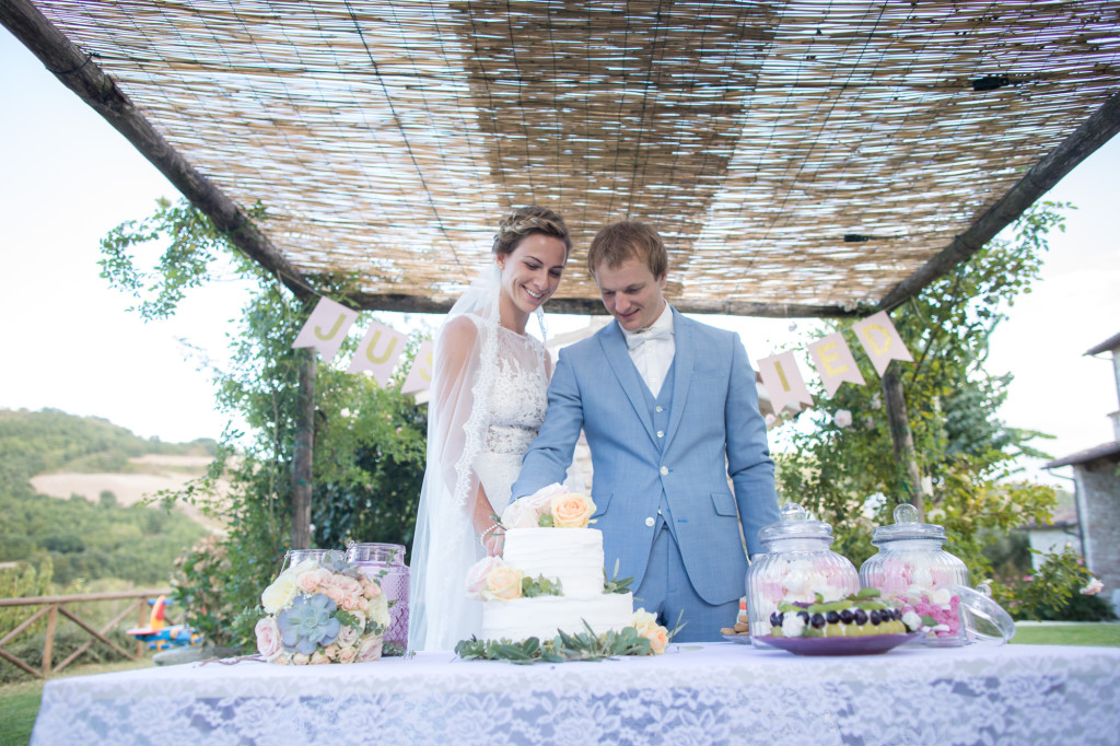 trouwen italie taart