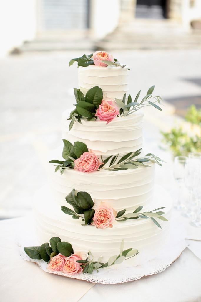 trouwen in italie taart