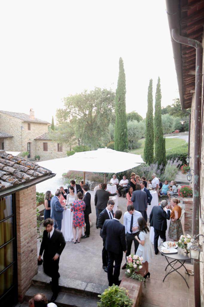 trouwen italie toscane borrel