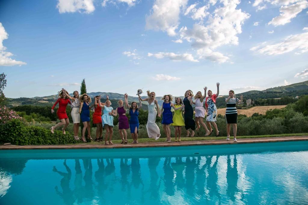 trouwen italie zwembad